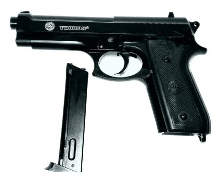 Pistol Airsoft CyberGun Taurus PT92 metal slide