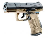 Pistol Airsoft Umarex Walther P99 TAN + 5 capsule CO2 + 500 bile